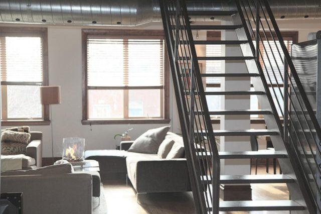 loftowe wnętrze